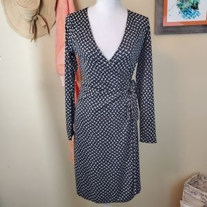 The Limited XS Long Sleeve Wrap Style Dress